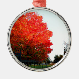 Gettysburg Cemetary Metal Ornament