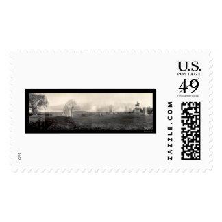 Gettysburg Cemetary Photo 1909 Postage Stamp