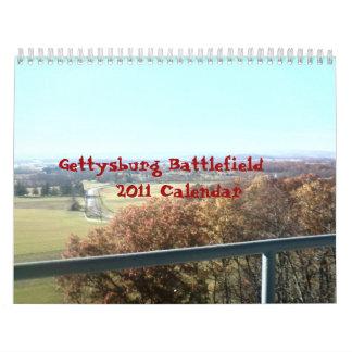 Gettysburg - Collage - Calendar