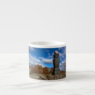Gettysburg College - Fall Leaves Espresso Cup