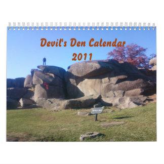 Gettysburg - Devil's Den - Calendar