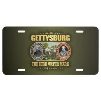 Gettysburg (FH2) License Plate
