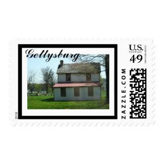 Gettysburg histórico timbre postal