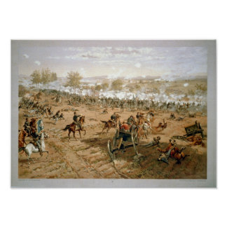 Gettysburg July 1–3, 1863 Poster