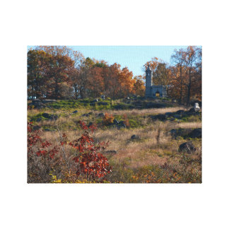 Gettysburg National Park - Big Round Top Canvas Print