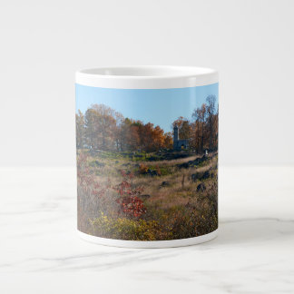 Gettysburg National Park - Big Round Top Giant Coffee Mug
