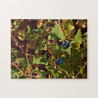 Gettysburg National Park Blue Berries Jigsaw Puzzle