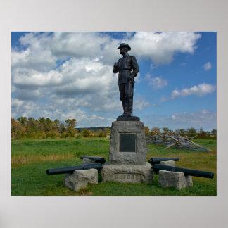 Gettysburg National Park - Buford Memorial Poster