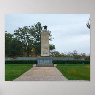 Gettysburg National Park - Eternal Peace Light Poster