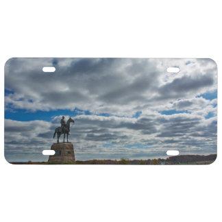 Gettysburg National Park - George Meade Memorial License Plate