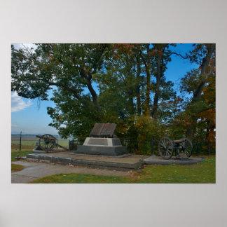 Gettysburg National Park - High Water Mark Poster
