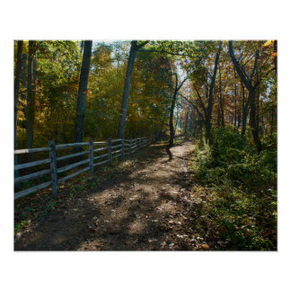 Gettysburg National Park Horse Path Poster