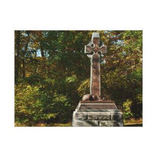 Gettysburg National Park Irish Brigade Memorial Canvas Print