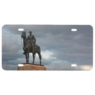 Gettysburg National Park - Meade Memorial License Plate