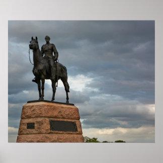 Gettysburg National Park - Meade Memorial Poster