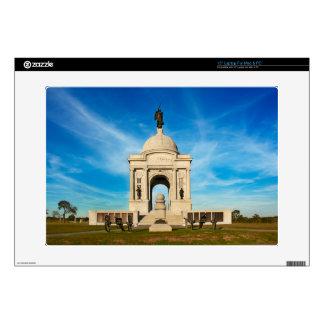 """Gettysburg National Park - Pennsylvania Memorial 15"""" Laptop Decal"""