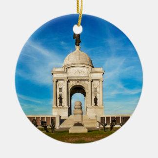 Gettysburg National Park - Pennsylvania Memorial Ceramic Ornament