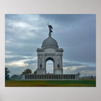 Gettysburg National Park - Pennsylvania Memorial Poster