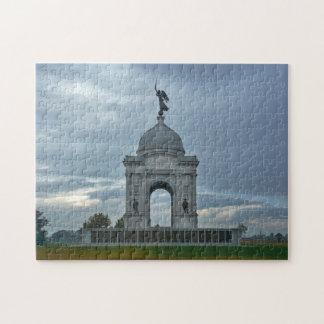 Gettysburg National Park - Pennsylvania Memorial Puzzle
