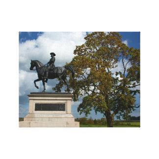Gettysburg National Park - Reynolds Memorial Canvas Print