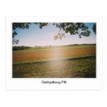 "Gettysburg PA Battlefield ""Ghost"" Postcard"