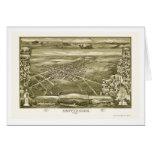 Gettysburg, PA Panoramic Map - 1888 Card