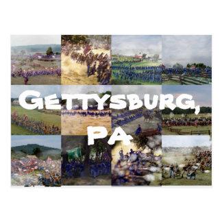 Gettysburg, PA Postales