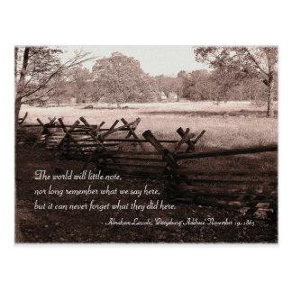 Gettysburg - postal #2 del campo de batalla