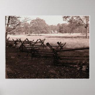 Gettysburg - poster #1 del campo de batalla