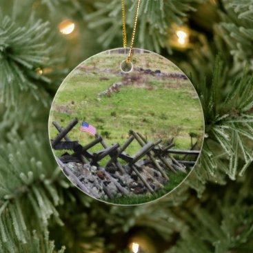 Gettysburg Round Ornament