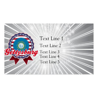 Gettysburg, SD Double-Sided Standard Business Cards (Pack Of 100)