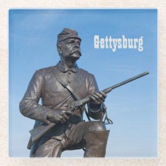 Gettysburg Statue Glass Coaster