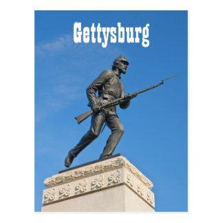 Gettysburg Statue I Postcard
