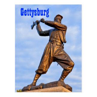 Gettysburg Statue IV Postcard