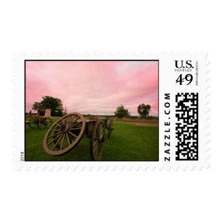 gettysburg subió el cielo sellos postales