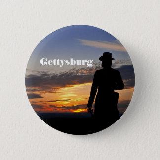 Gettysburg Sunset Button