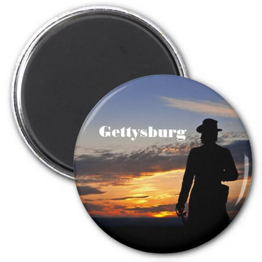 Gettysburg Sunset Magnet