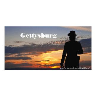 Gettysburg Sunset Photo Card