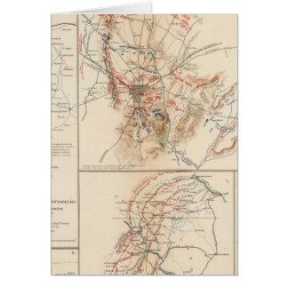 Gettysburg Tarjeta De Felicitación