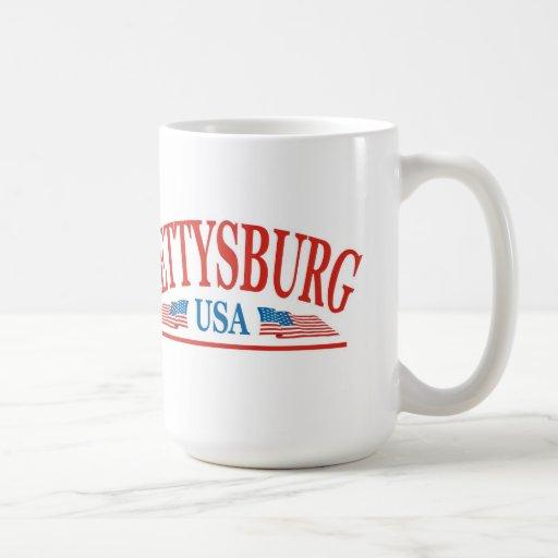 Gettysburg Tazas