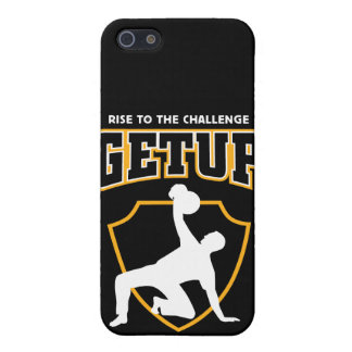 Getup Rise to the Challenge Kettlebell IPhone Case iPhone 5 Cases