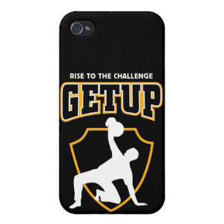 Getup Rise to the Challenge Kettlebell IPhone Case iPhone 4 Cases