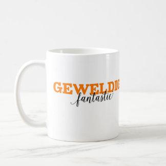 Geweldig/vocabulario holandés fantástico de la taza
