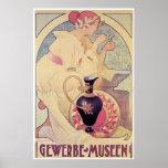 Gewerbe Museen, G. Abbegg Art Nouveau Posters