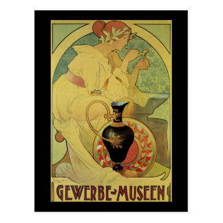 Gewerbe Museen Postcard
