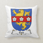 Gex Family Crest Pillow