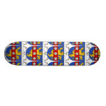 Gex Family Crest Skate Board Deck
