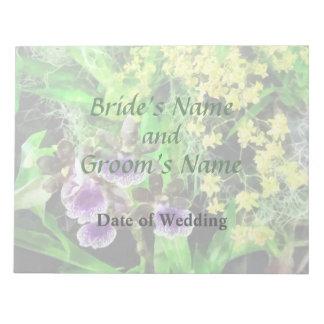 Geyser Jamie and Golden Fantasy Wedding Products Notepad