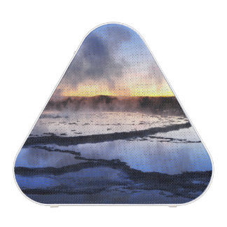 Geyser Smoke at Sunset Speaker