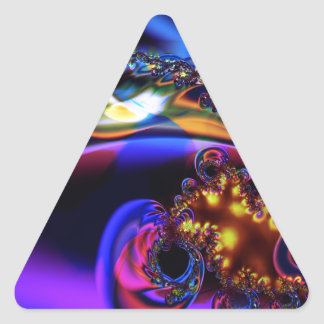 Geyser Triangle Sticker
